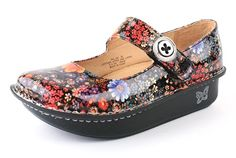 Alegria Shoes Paloma Midnight Garden Patent from Alegria Shoe Shop - now on closeout!