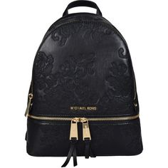 3a556ee892b1 Rhea Lace Backpack ($287) ❤ liked on Polyvore featuring bags, backpacks,  black