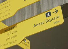 Foreign Language Wayfinding Signage - 2014 Brisbane Design Awards