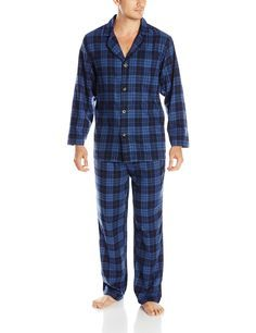 Pendleton Men's Pajama Set at Amazon Men's Clothing store: Flanel Pajamas Mens