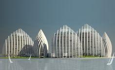 Putrajaya Waterfront Residential Towers / Studio Nicoletti Associati - eVolo | Architecture Magazine