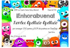 En nuestra clase de Primaria: Descargables Reward Coupons, How To Speak Spanish, Classroom Decor, Classroom Management, Karate, Kids Learning, Language, Clip Art, Teacher