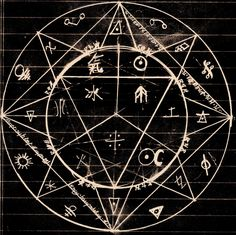 """Alchemy Circle, Alchemist-Pac The """"ultimate metal"""", he the artist describes this to relate to. Description from pinterest.com. I searched for this on bing.com/images"""