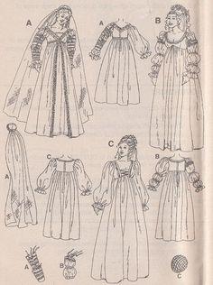 Italian Renaissance Court Dress
