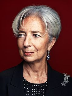 Christine Lagarde is the first woman ever to become managing director of the International Monetary Fund. She increases financial stability and reduces poverty in 188 countries around the world.