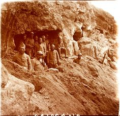 WW1. Quarry at Soissons…