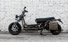 A garage for special motorcycles and cafe racers Mini Bike, Cafe Racers, Motorcycles, Garage, Vehicles, Drive Way, Biking, Garages, Car