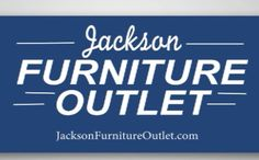 Jackson furniture outlet has been in business for 31 years.  Locally owned and operated.  Over 500 items in stock such as sofas, sectionals, recliners, bedroom furniture, dining sets, computer desks, TV stands and much more.  Low Prices Everyday  No high pressure sales.  Professional delivery.  Excellent service after the sale.