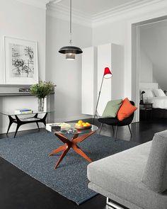 diseño de sala estilo minimalista