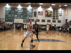 PURCELLVILLE, VA - Check out Loudoun Valley's Paul Rowley as he slams home two monster dunks in the 70-49 Region Semifinal win over Monticello....Andy Hayes and George Khalsa on the call...