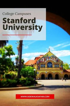 Explore the Stanford University Campus in Palo Alto California. #Stanford #California Stanford Campus, Stanford University, University Of Michigan, Places In California, California Travel, Solar Charging Station, Chemistry Degree, Travel Around Europe
