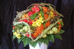 Bouquet néo décoratif ou structuré par les Bp 1 ère année .CFA Blagnac (France).