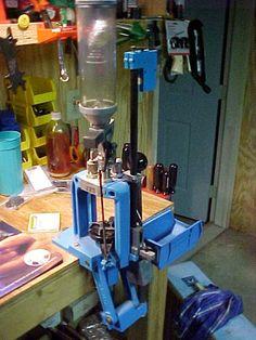The Dillon 550b progressive loading press.