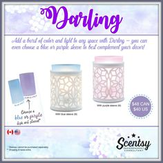 $48 Darling Warmer is available in two colors!