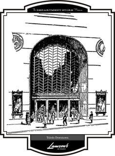 The Department Store Museum: Lamson Brothers, Toledo, Ohio