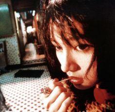 Fallen Angels [1995] directed by Wong Kar Wai, starring Leon Lai, Takeshi Kaneshiro, Charlie Young, Michele Reis, and Karen Mok.