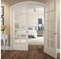top best interior door design ideas for your stylish and modern home 22 French Doors Bedroom, French Doors Patio, Bedroom Doors, Interior Door Knobs, Interior Barn Doors, Double Doors Interior, Exterior Doors, Door Design, House Design