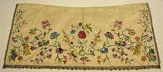 Apron  Date: first quarter 18th century Culture: British Medium: silk