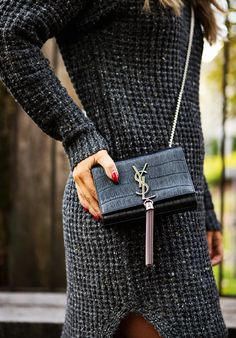There's nothing more chic than a classic YSL bag.