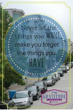 There is always something better out there! How content are you?  Stuff can make contentment difficult!  Most of the time once we buy something new, be it big~like a house or car, or small~like a new phone or computer, we begin to notice all the other things like it around us.  (Click to read more)