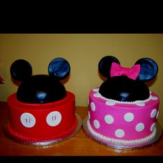 Cute Disney theme cakes for Boy/Girl Birthday!