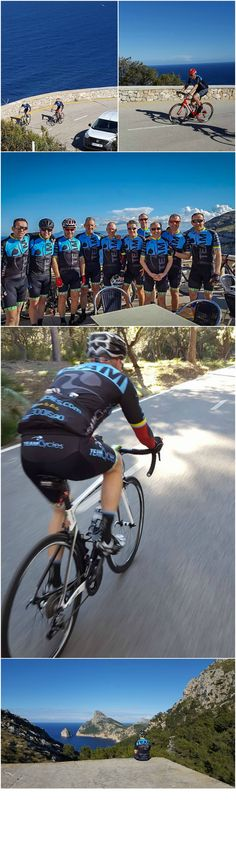 Team Cycle's team first ride in beautiful Majorca #cycling #roadbike  #majorca