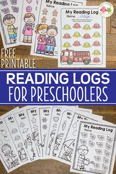 How to Use Free Printable Preschool Reading Logs Use these free printable preschool reading logs to encourage kids to track their reading at home. The preschool printables can be used at any time of year. A perfect homework or take home activity for pres Kindergarten Reading Log, Preschool Homework, Preschool Schedule, Preschool Education, Preschool Curriculum, Free Preschool, Preschool Printables, Preschool Classroom, Literacy Activities