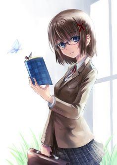 Anime Girls Glasses