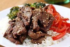 Rollo De Carne Huevos Rancheros, Beef Recipes, Cooking Recipes, Healthy Recipes, Cooking Videos, Teriyaki Beef, Good Food, Yummy Food, Awesome Food