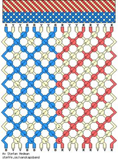 A great of July idea:) American Flag Friendship Bracelet Pattern. A great of July idea:) Macrame Bracelet Patterns, Macrame Patterns, Macrame Bracelets, Bracelet Designs, Thread Bracelets, String Bracelets, Diy Friendship Bracelets Patterns, String Crafts, Bracelet Crafts