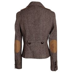 Comptoir des Cotonniers tweed jacket with elbow patches detail.  Oh, the cosplay!