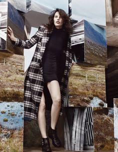 Sam Rollinson, Amanda Murphy & Maria Loks by Craig McDean for Vogue UK