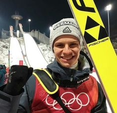Andreas Wellinger, Ski Jumping, Jumpers, Skiing, Germany, Sky, Celebrities, Sports, Ski