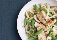 Asian Chicken-Noodle Salad with Snap Peas