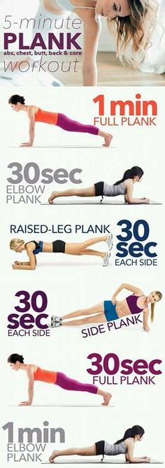 Super Plancha , 5 min largos !!!! Full Body, Total Body, Ab Workouts, Belly Workouts, Quick Workouts, Short Workouts, Workout Routines, Workout Plans, Cardio Routine