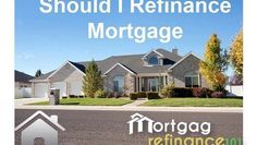 Know more about online when and why should you refinance mortgage with low interest on free quotes to save more money online. #mortgage #refinance