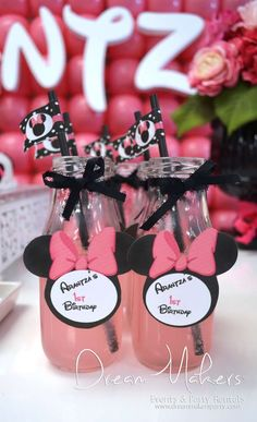 Minnie Mouse Polka dots Birthday Party Ideas | Photo 17 of 32 | Catch My Party