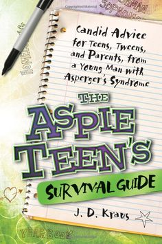 The teenage years are a time when being social is the #1 priority for kids. But for kids with Asperger's, who have acute social challenges, these years can be the most difficult, confusing time in their lives. J.D. Kraus offers practical advice to his peers so they can get the most out of middle school and high school, both academically and socially.