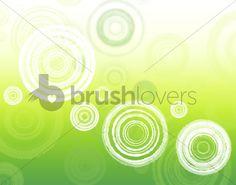 円をモチーフとしたフリーのPhotoshopブラシセット40選