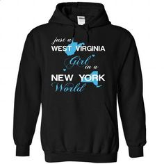 (WVJustXanh001) Just A West Virginia Girl In A New_York - #raglan tee #sueter sweater. MORE INFO => https://www.sunfrog.com/Valentines/-28WVJustXanh001-29-Just-A-West-Virginia-Girl-In-A-New-5FYork-World-Black-Hoodie.html?68278