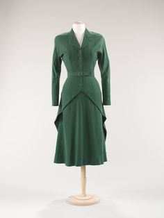 dress ca. 1947 via The Costume Institute of The Metropolitan Museum of Art