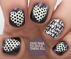 One Nail To Rule Them All: Models Own Nail Art Tool Kit Review + Love Letters Nail Art