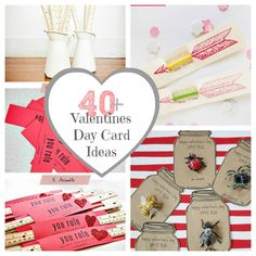 40+ Valentines Day Card Ideas & Gifts for Classmates  http://www.thecraftedsparrow.com/