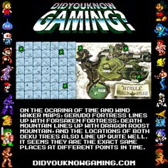 did u know #legend of Zelda