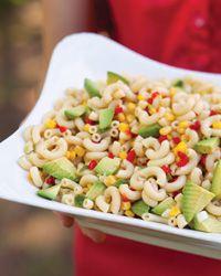 Avocado macaroni salad. Sandra Lee Semi-Homemade