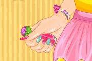 Renkli Manikür 2 oyunu oyna.Kır düğününe kayılacak olan Lara için manükür bakımını yapmaya başlayalım mı?Bahar ayında çiçekli bir elbise seçti,Çiçekli elbisesine uygun renkli manikür yapmaya balayalım.Kolay gelsin. http://www.oyunli.com/renkli-manikur-2.html