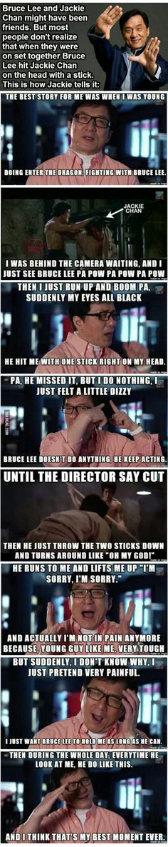 Funny Jackie Chan story