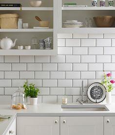 Metro White Tile
