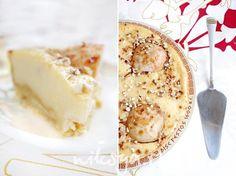 Итальянский грушевый пирог с кремом маскарпоне