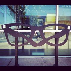 Bike rack in Portland. #Portlandia